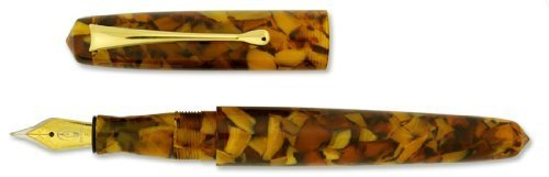 edison-pearlette-aztec-gold-flake-fine-point-fountain-pen-ed-prlt-gf-f-by-edison