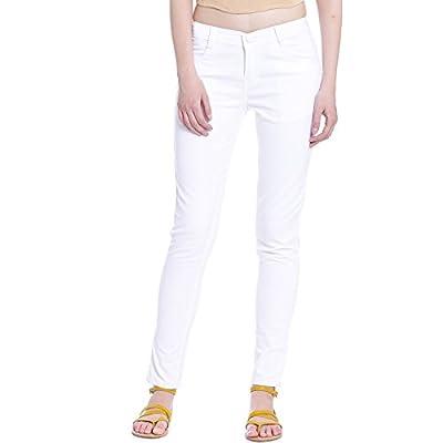 Broadstar Women Denim White Jeans
