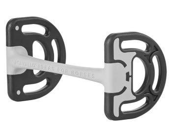 Busse Stangengebiss Sensitive, Acavallo®, 12.5, schwarz/grau
