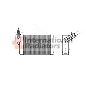 Van Wezel 58006060 Calefacción para Automóviles