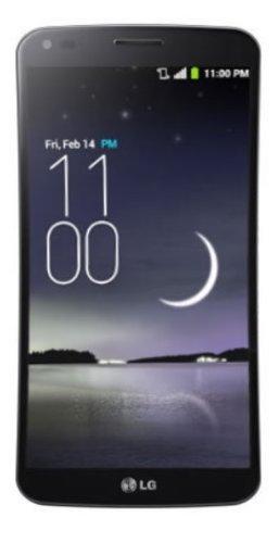 LG G Flex Smartphone UNLOCKED (6 Zoll), 32 GB), Silber (Spanien-import) (Smartphone 3g Lg)