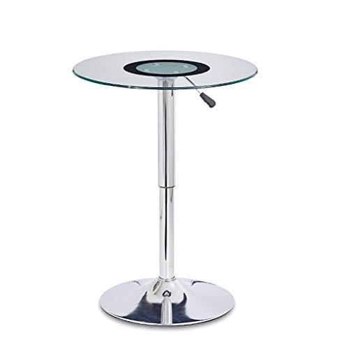 DYW Couchtisch Sofa Beistelltisch Einfaches Heben Kleine Moderne transparente Glascouchtisch Narrow Tisch for Wohnzimmer Heim