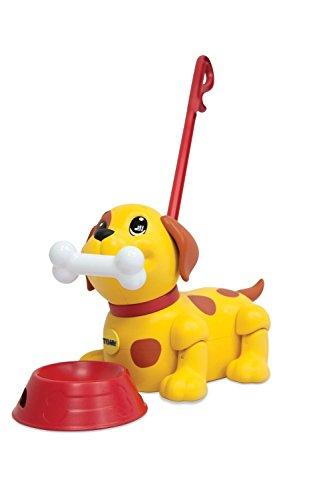 TOMY Spielzeug Mein bester Freund - Puppy | Nachziespielzeug | Zietier Hund: bellt, bewegliche Glieder | Kinderspielzeug für Kinder ab 12 Monate | Lernspielzeug aus hochwertigem Kunststoff