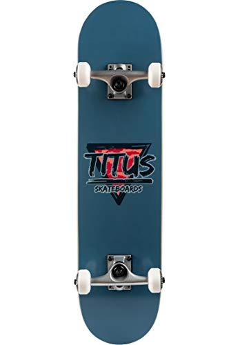 TITUS Skateboards-Complete Triangle, Smoke-Blue, 7.5