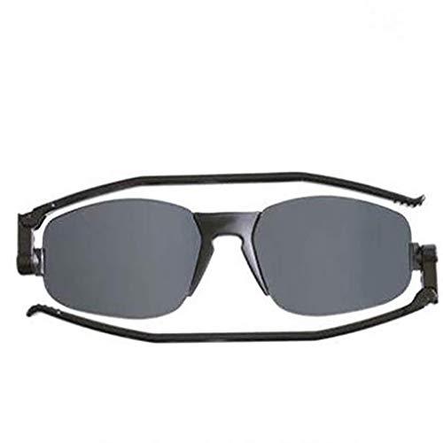 Glücklich zusammen Sonnenbrillen dünner und stilvoller klassischer Fahrerspiegelschutz (Color : B)