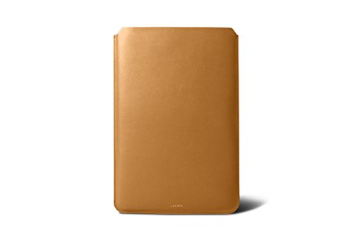 Lucrin - Housse pour MacBook Air 13 pouces - Cuir Lisse Naturel