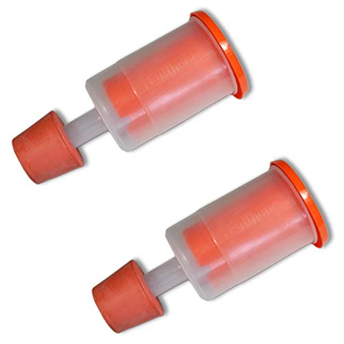 2 x Gärspund inklusive Stopfen original Speidel für Getränke und Mostfässer