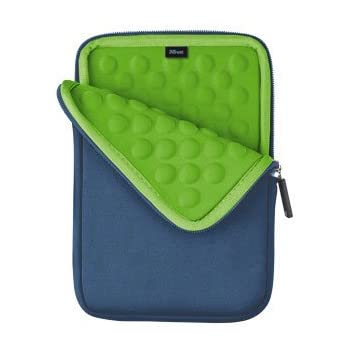 Trust Anti-Shock Bubble Sleeve for All 7-inch Tablets - Blue  Amazon ... 9aa8724faf