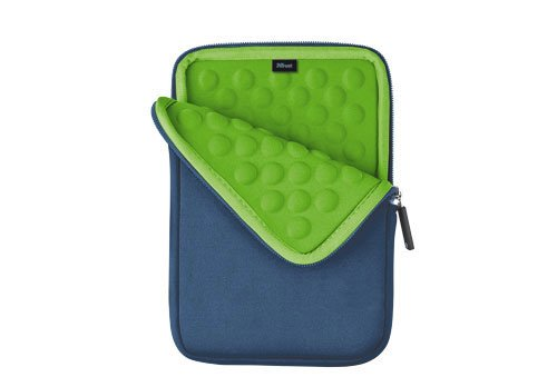 Trust Anti-Shock Bubble Sleeve for Tablet da 7 Pollici, Colore Azzurro