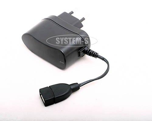 System-S Netzteil zu USB für HTC P3301 P3340 P3350 P3400 P3400i P3401 P3450 P3452 P3470 P3600 P3600i P3650 P3651 P3700 P3701