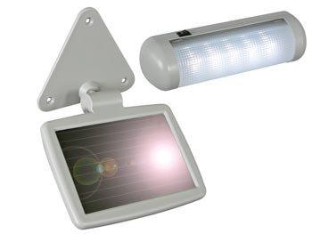 LAMPE LED A PANNEAU SOLAIRE ETANCHE POUR MAISON JARDIN