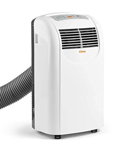Climia CMK 2900 mobile Klimaanlage, 3-in-1 Klimagerät – Aircondition, Ventilator und Luftentfeuchter