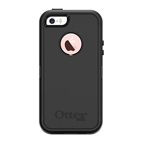 OtterBox Defender Schutzhülle (geeignet für Apple iPhone 5/5s/SE) schwarz - 5s Otterbox Iphone Fälle