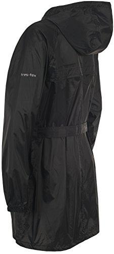 Trespass Damen Jacke Compac Mac, Black, XL, FAJKRAI10011_BLKXL -