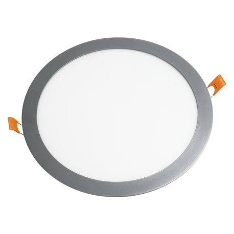 Downlight LED 20W 6000K empotrable redondo aluminio chip Led Osram