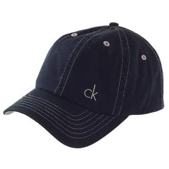 Calvin Klein Golf Twill-Baseballkappe - grau