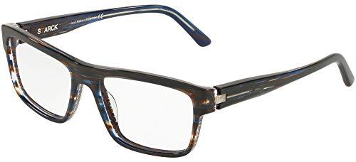 Starck eyes occhiali da vista 0sh3050 striped blue uomo