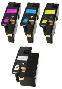 pack-4-compatibles-toner-laser-pour-dell-c1660-c1660w-c1660dw-c1660cn-c1660cnw-noir-1250-pages-cyan-