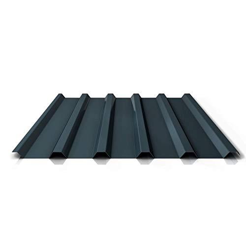 Trapezblech | Profilblech | Dachblech | Profil PA35/1035TR | Material Aluminium | Stärke 0,70 mm | Beschichtung 25 µm | Farbe Anthrazitgrau