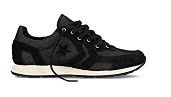 Converse Auckland Racer Ox Trainers - Black / Natural - UK 11