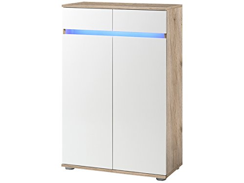 Kommode Sideboard Anrichte TV-Lowboard Lowboard in inkl. Beleuchtung