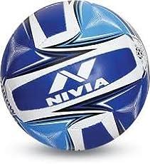 Nivia Plain Throw Ball - Size: 5 (Diameter: 22 cm)