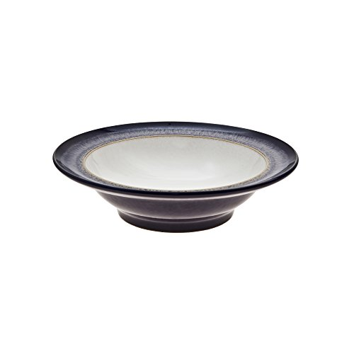 Denby HEA-003W Heather Essteller Heather 3-Pound Wide Rimmed Cereal Bowl - Rimmed Bowl