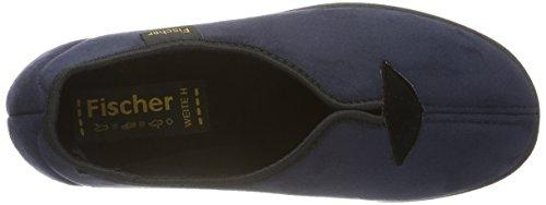 Fischer Dora, Pantofole Donna Blu (Blu)