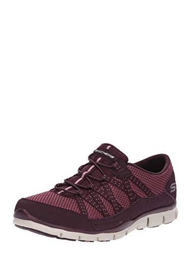 Gratis-Strolling Damen Sneaker Pflaume/rosa, Größe:37, Farbe:Pflaume ()