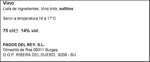 Altos de Tamaron Reserva D.O. Ribera del Duero Vino Tinto, 750 ml, 1 unidad