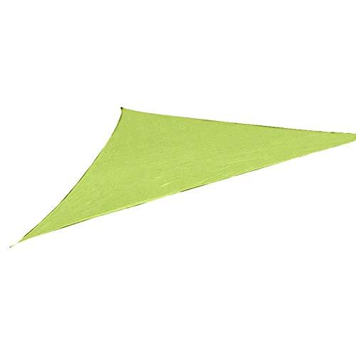 Sguan-wu Triángulo Protector Solar Sombrilla Protección Exterior Toldo Jardín Patio Toldo Paño...
