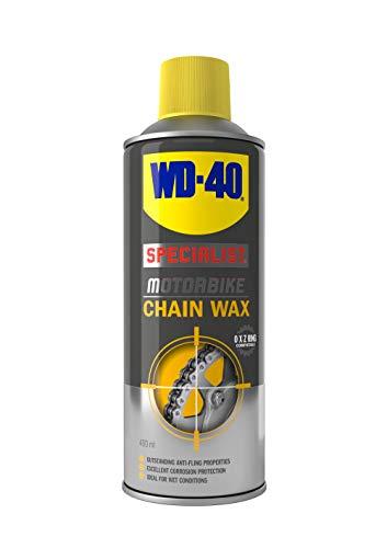 WD-40 Graisse chaîne conditions humides pour moto 400 ml.
