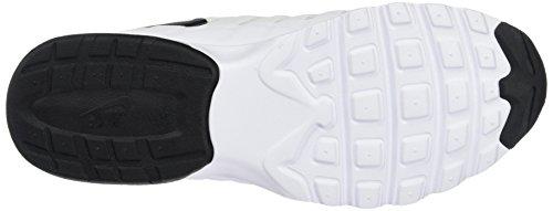 Nike Air Max Invigor, Chaussures de Running Compétition Homme, Schwarz, 41 EU Blanc (White/Black 100)