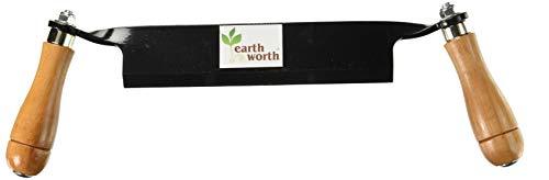 Earth Worth 1946 Rasierwerkzeug, gerade, 20,3 cm, Schwarz -