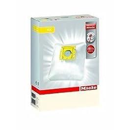 5 SACCHI SACCHETTI ASPIRAPOLVER MIELE KK ipo KK per S 140 – S 168 / S 190 – S 198, 5 pezzi, 1 Filtro Super Air Clean e 1…