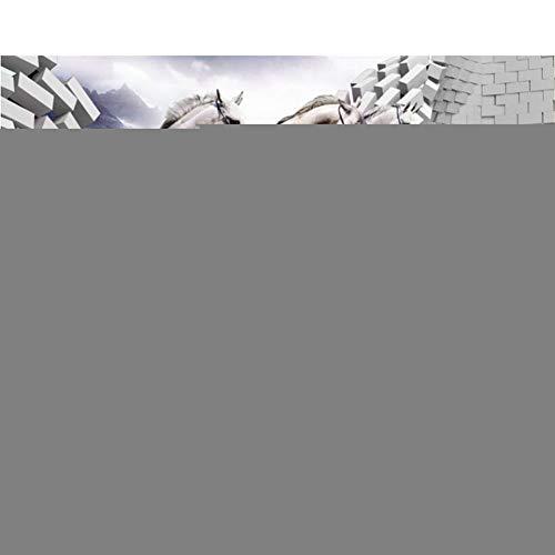 Klassiker kann Tapetenschimmel-Bruchwand-Laufhintergrund 3d Tapete scheuern