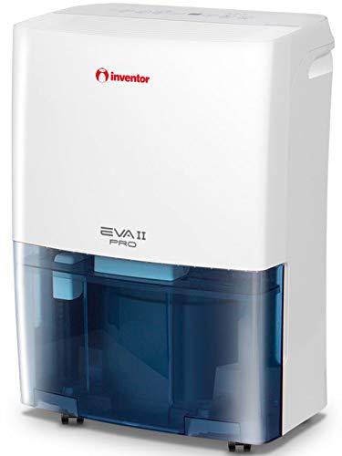 inventor eva ii pro (20l/24h), deumidificatore portatile con r290, asciugabiancheria,timer, modalità di deumidificazione continua - smart - silent, basso consumo e 2 anni di garanzia.