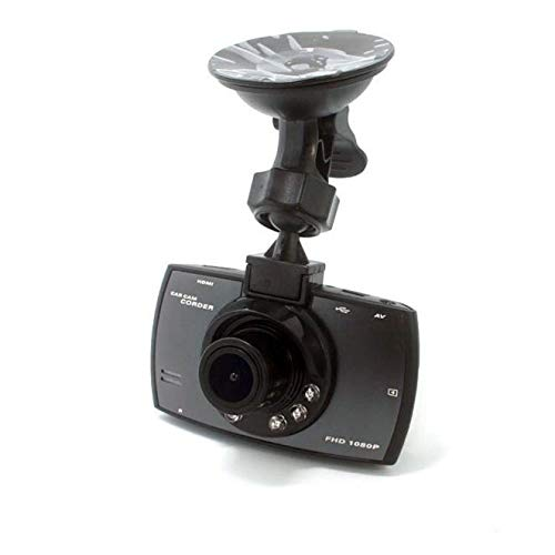 NPNPNP Aufnahmegerät Fahren Hd 1080p2.7 Zoll Mit Led-licht Car Driving Dvr Recorder Driving + Night Vision Motion Detection G-Sensor Dvr Kamera schwarz Dvr Recorder Motion Detection