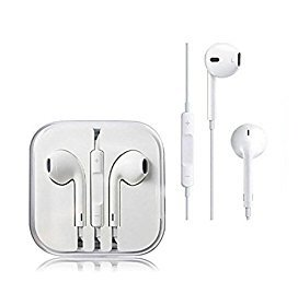 Easypro 3.5mm In-Ear Headphones with Mic for Xiaomi Mi A1 (White)