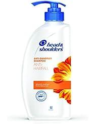 Head and Shoulders Anti Hairfall Shampoo, 650ml/675ml (Weight May Vary)