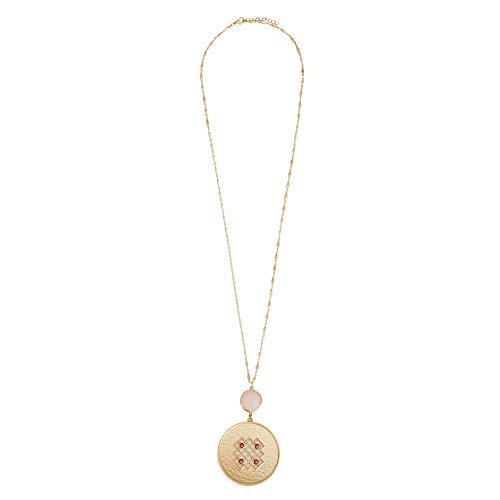 Parfois - Lange Halskette Twilight Mit Anhänger Online Exclu - Damen - Größe One Size - Mehrfarbig
