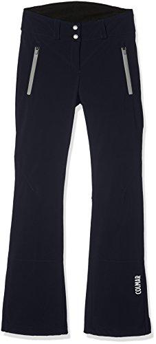 Colmar Damen Comfort Softshell Pants Hose, Blue Black, 44