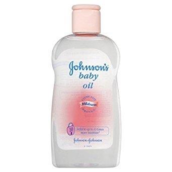 Johnsons Baby-Öl 6x300ml Flaschen - Johnsons Baby Pulver