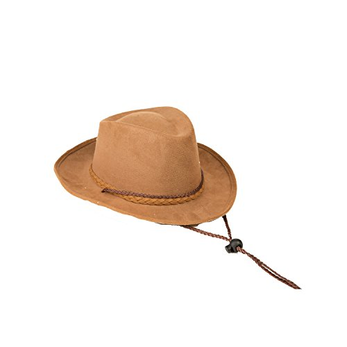 Kostüm Cowboy Dress Kids Up - viving Kostüme viving costumes204659 Cowboy Hat für Kinder (49 cm, One Size)