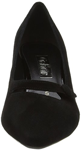 Gabor Shoes Fashion, Scarpe con Tacco Donna Nero (schwarz 57)
