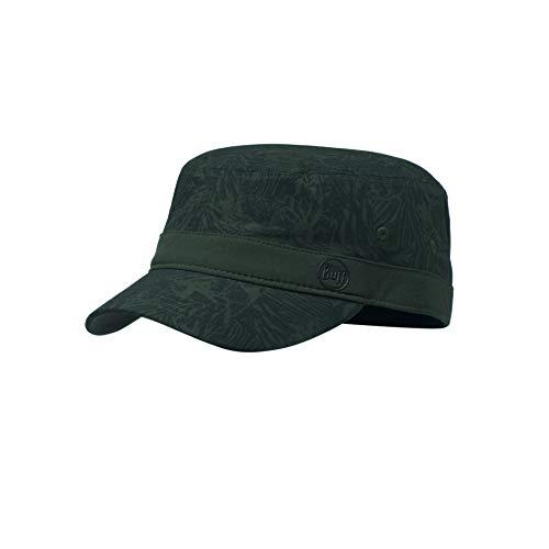 Buff Erwachsene Military Cap, Checkboard Moss Green, M Camo Military Cap