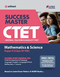 CTET Success Master Maths & Science Paper-II for Class 6 to 8 2019