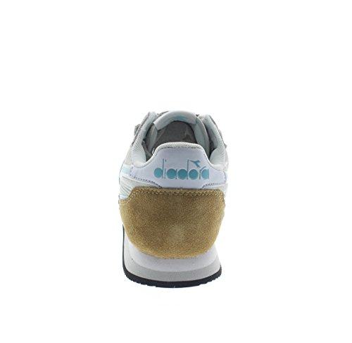 Diadora Malone W, Sneaker Bas du Cou Femme Gris