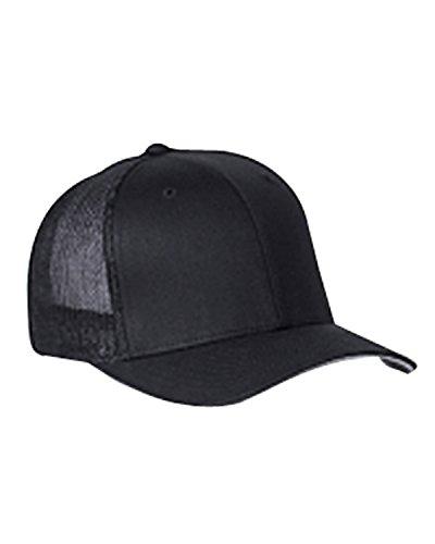 Flexfit Unisex Mesh Trucker Kappe black