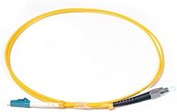 FC LC Single Mode Simplex 3 Meter Optical Patch Cable LSZH Cable Type